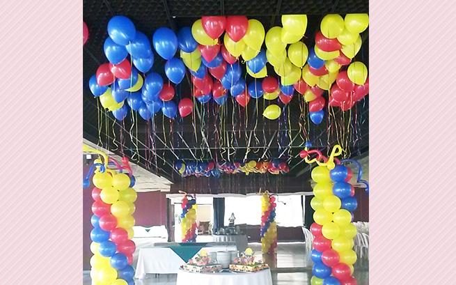 Decoracion arreglos y peluches con globos de helio for Decoracion y hogar bogota